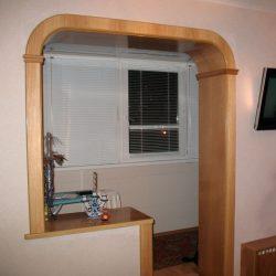 Дверной проем без двери: обустройство, идеи отделки и оформления на кухне, балконе, в зале (105+ Фото Видео) +Отзывы