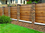 Забор: основные виды, из дерева, кирпича, профлиста, пластика, рабицы, бетона. Инструкции по возведению своими руками (105+ Фото & Видео) +Отзывы