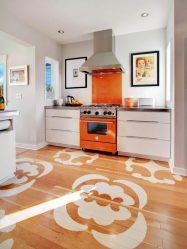 Какой пол на кухне лучше: обзор современных видов. Кафель, наливной пол, ламинат, паркет и другие материалы  (100+ Фото & Видео) +Отзывы