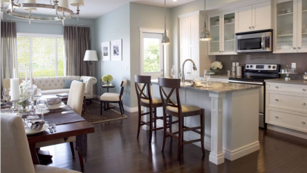 Дизайн кухни совмещенной с гостиной | ТОП-100 Идей для частного дома или квартиры (110+ Фото & Видео) +Отзывы