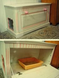 Строим дом для кошки своими руками. Интересные идеи и пошаговые инструкции: из фанеры, картонных коробок, ткани. Чертежи с размерами (120+ Фото & Видео) +Отзывы