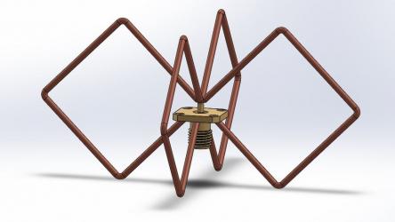 Всенаправленная биквад антенна на 2 4ГГц своими руками