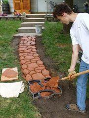 Как сделать садовые дорожки на даче своими руками? (80+ Фото) Вариантов отличных идей +Отзывы
