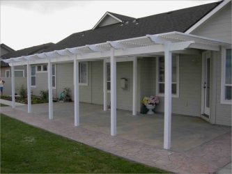 canopy to house