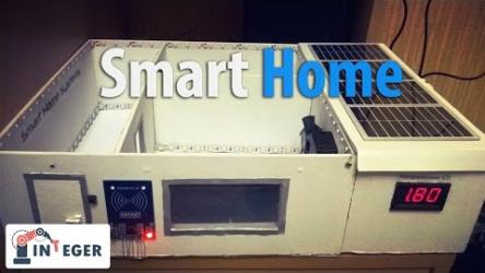[ВИДЕО] Прототип умного дома на платформе Arduino
