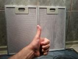 Как быстро очистить решетку вытяжки от жира