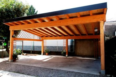 Навес во дворе частного дома из поликарбоната и других материалов (250 ФОТО ИДЕЙ) — красивый вид, удобство и практичность +Отзывы