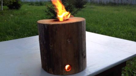 Печь из полена коротая будет гореть более 7 часов 🔥🔥🔥