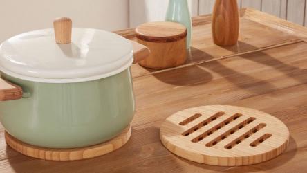 Недорогая кухонная подставка под горячее, сделанная своими руками | 85+ Оригинальных идей