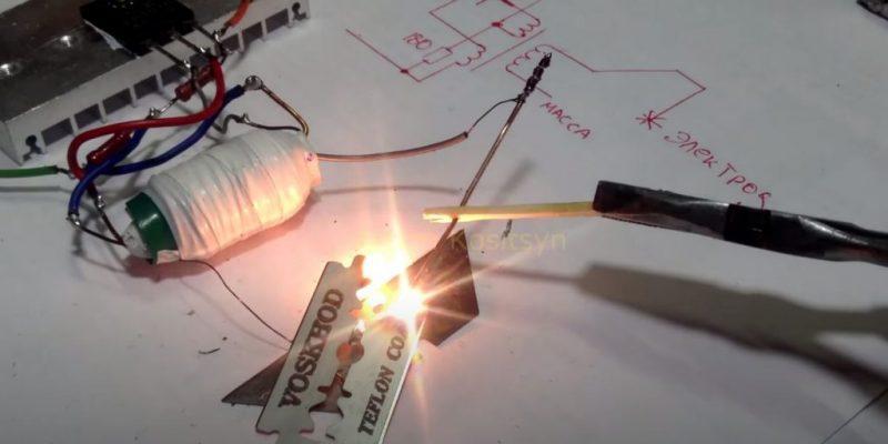 Как сделать сварочный аппарат на 12 вольт своими руками?